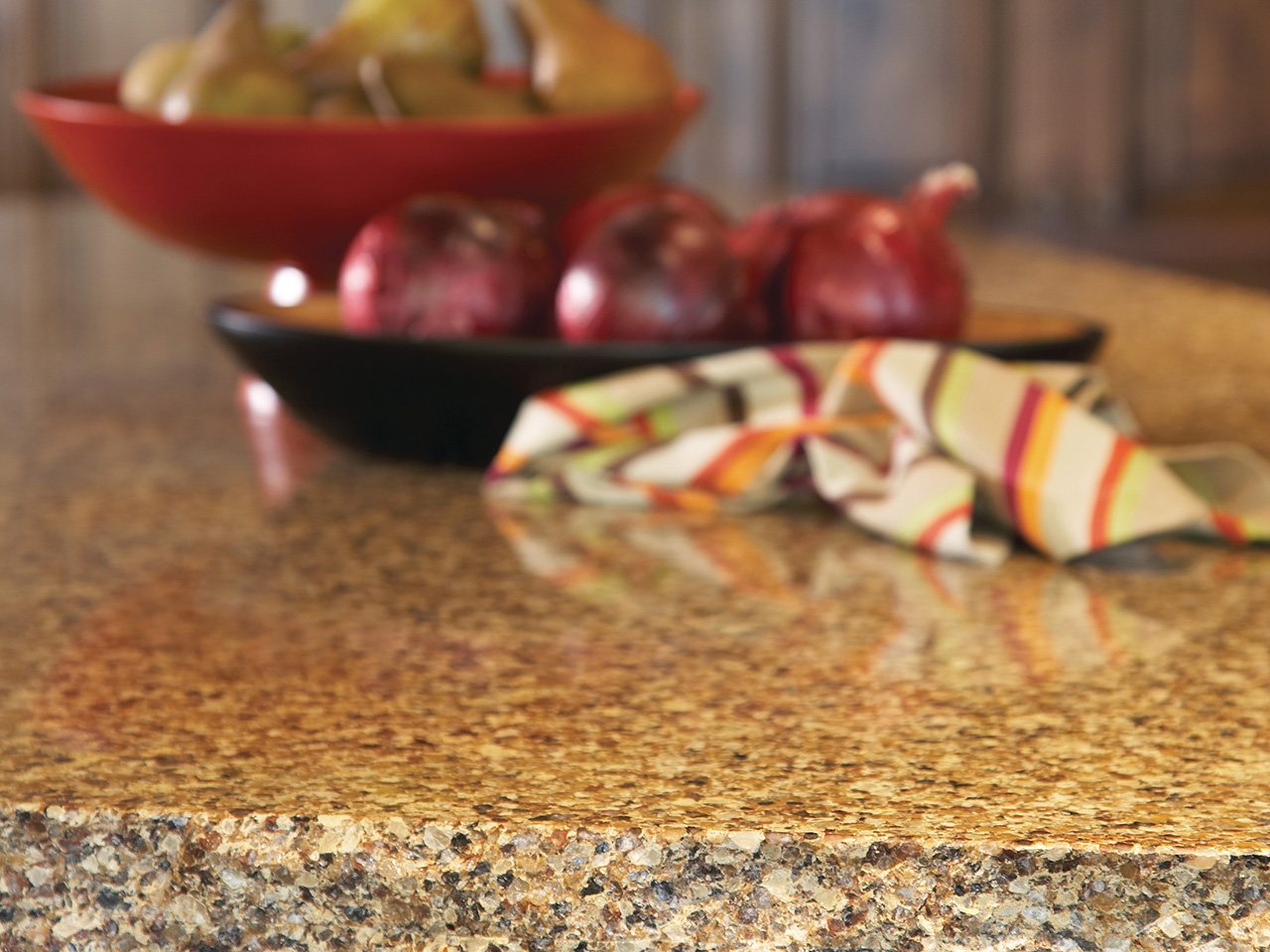Stone countertops features