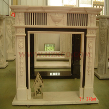 Ceam Marfil Marble Fireplace