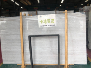 Good Quality Century White Marble Slabs With White Veins