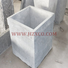 HZX-Blue Limestone Flower Pot