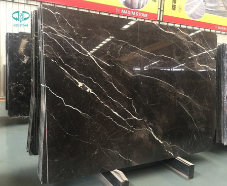 Imperial Brown Gold Marble