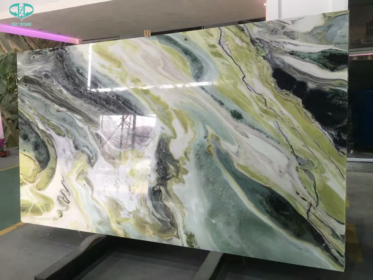 Green Beauty Onyx, green marble, china marble slab, green onyx
