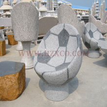 Grey Granite Box Chair for patio