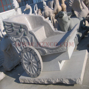 HZX-White Granite Bench