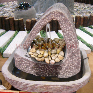 HZX-G654 Grey Granite Fountain