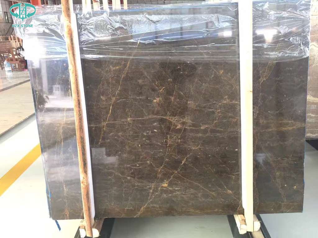 New Portoro Laurent marble , China marble slab, Brown marble slab